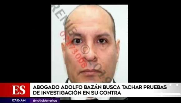 Adolfo Bazán continúa con paradero desconocido tras ser incluido en el Programa de Recompensas del Ministerio del Interior. (Foto: Captura América Noticias)