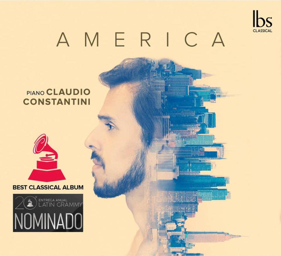 Disco 'América', Claudio Constantini. (Sello IBS)