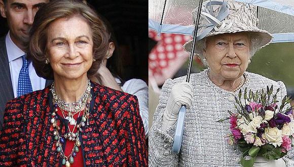 Tensiones entre la realeza española y la británica. (Reuters)