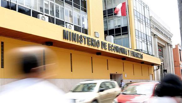 El Ministerio de Economía y Finanzas (MEF) calcula el crecimiento anual en 4.5%. (Foto: USI)
