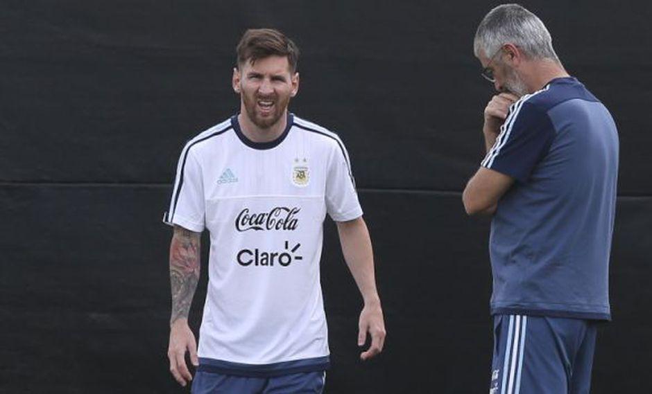Copa América Centenario: Lionel Messi es duda en el debut de Argentina ante Chile. (EFE)