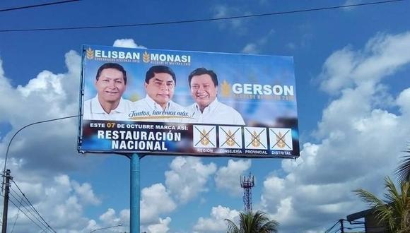 Campaña en Loreto.