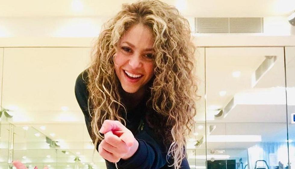 Shakira cautiva a sus seguidores con su desenfadado look. (Foto: @shakira)