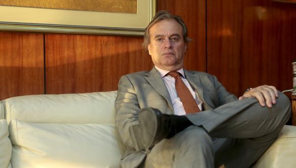 Carlos Basombrío, sociólogo, exministro del Interior y analista. (Diana Chávez / GEC)