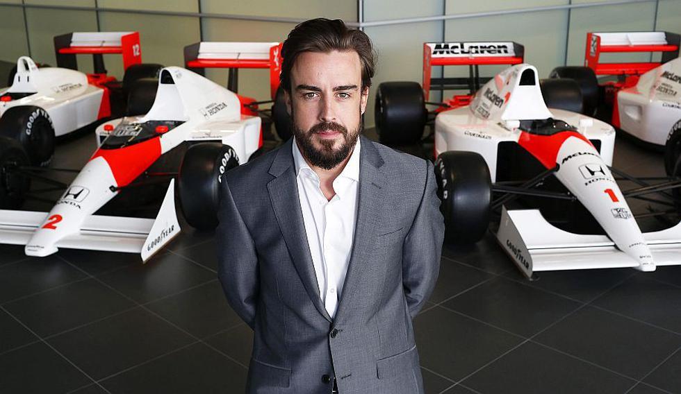 Fernando Alonso ya es parte de la escudería McLaren. (EFE)