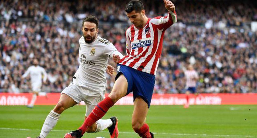 Álvaro Morata fue titular y fue reemplazado a los 50' por Thomas Lemar. (Foto: AFP)