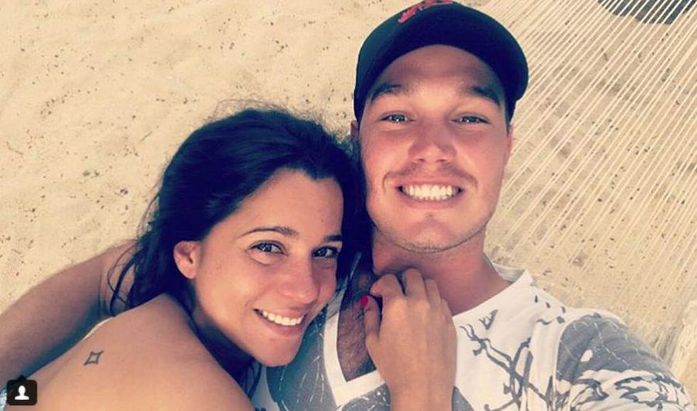 George Forsyth y Vanessa Terkes (Instagram: @george.forsyth)