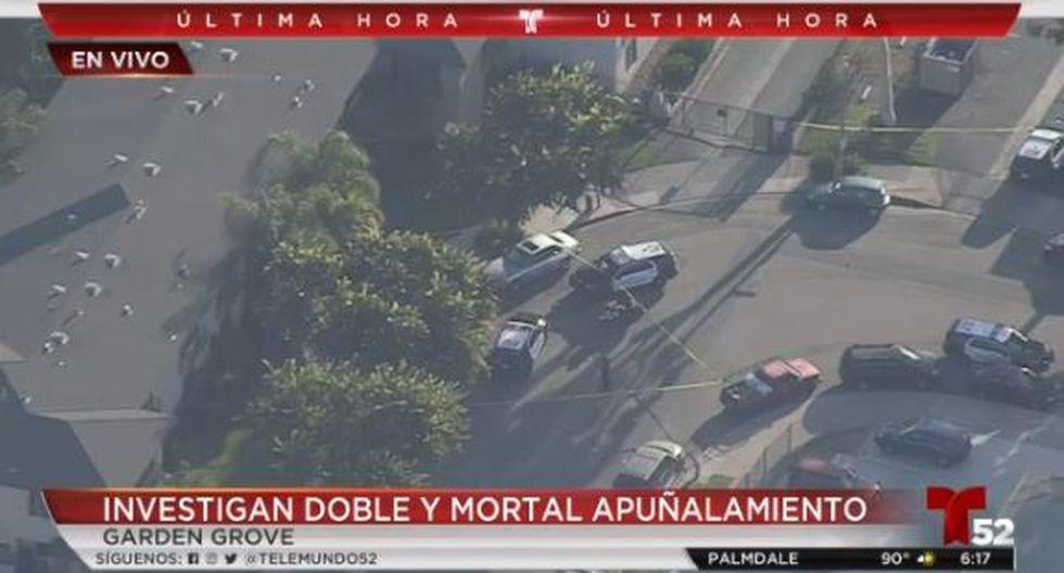 La Policía informó que los ataques parecen seguir un criterio aleatorio. (Captura/Telemundo)