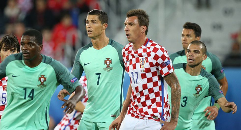 """Mario Mandžukić considera que """"Nigeria es un equipo muy rápido"""" pero confía en la capacidad de Croacia. (GETTY IMAGES)"""