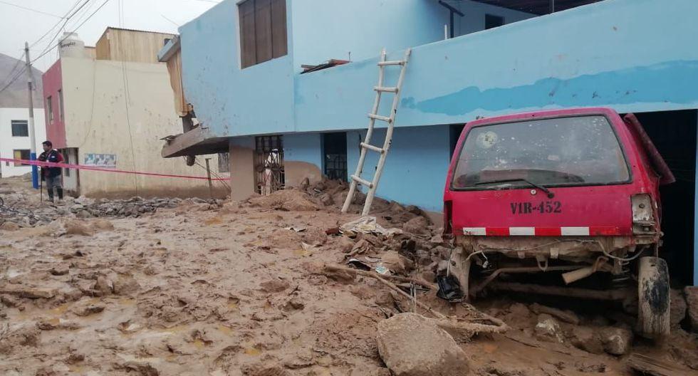 Huaico en el distrito de Aplao dejó a 52 familias sin viviendas.