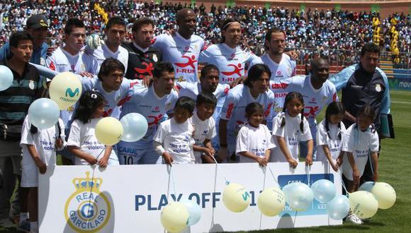 Real Garcilaso no mostró hoy su mejor juego en el Monumental. (Perú21)
