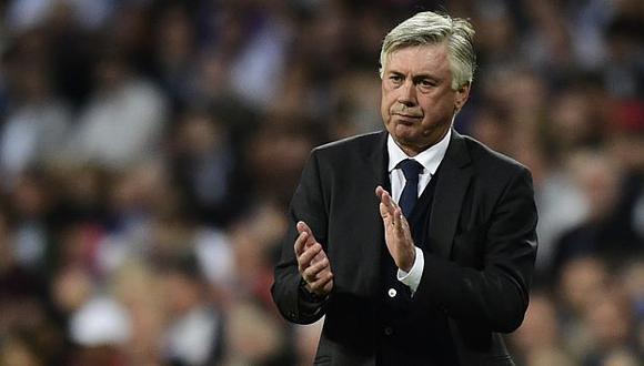 Ancelotti contó que Bale ya entrenó con el Real Madrid. (AFP)