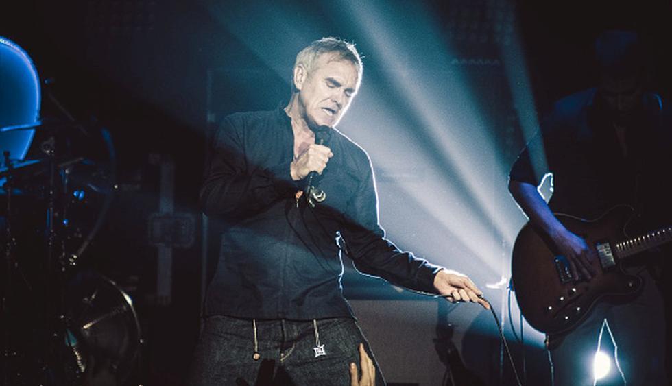 Morrissey cancela su gira europea tras polémica por acusaciones de racismo. (Getty)