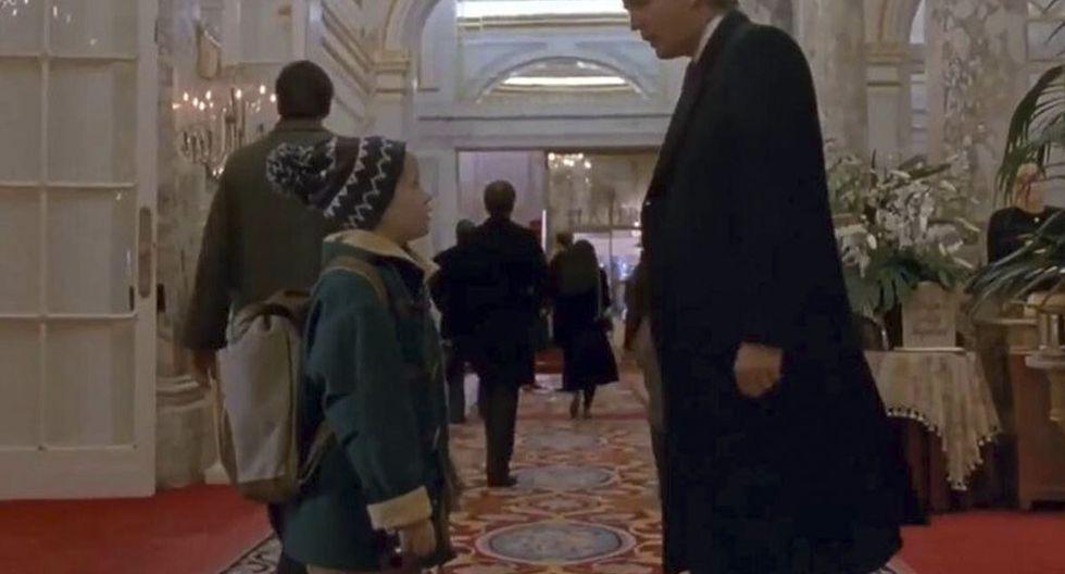 """Donald Trump: la vez que apareció en """"Mi pobre angelito 2"""" (Foto: 20th Century Fox)"""