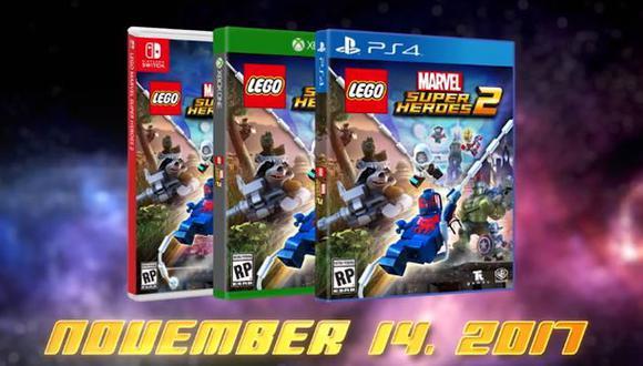 Marvel: Te mostramos el tráiler de 'LEGO Marvel Super Heroes 2' (Marvel)