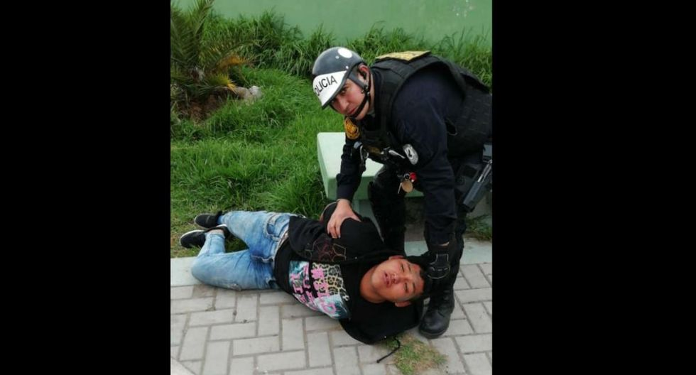 Policía de civil enfrenta a balazos a cuatro delincuentes en Arequipa. (GEC)