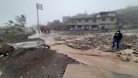 Arequipa: COEN señala que lluvias activaron torrenteras en cuatro distritos (Foto: COER-Arequipa)