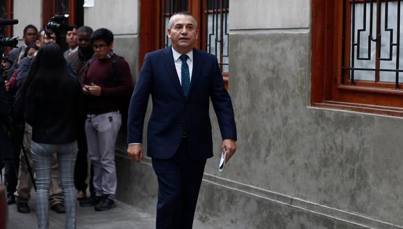 El ex ministro volverá al banquillo el próximo viernes 7 de setiembre para oír la sustentación de la reparación civil de la acusación. (Foto: Renzo Salazar)