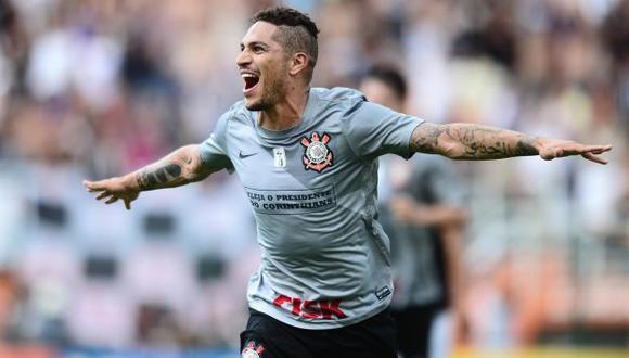 PERUANO AMBICIOSO. Guerrero lleva cinco goles en Brasil y es titular indiscutible. (Difusión)