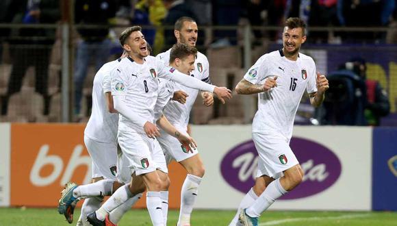 Italia vs. Armenia se enfrentan en la clasificatoria a la Eurocopa 2020. (Foto: Reuters)