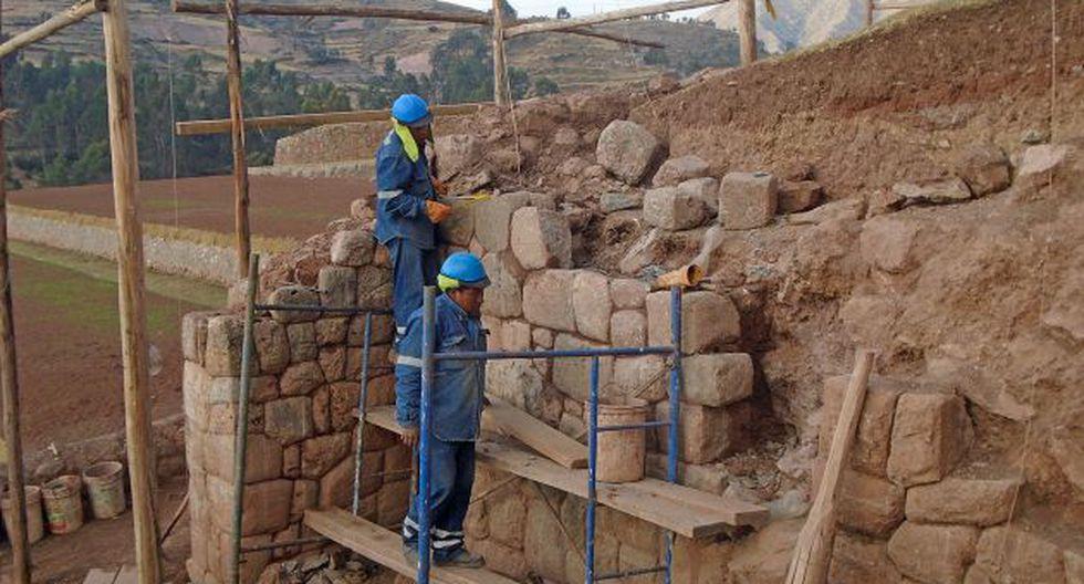 La DDC precisó que para las labores de restauración en el lugar, se ha invertido 1 millón 262 mil soles. (Dirección Desconcentrada de Cultura de Cusco)