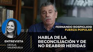 Fernando Rospigliosi candidato al Congreso por Fuerza Popular