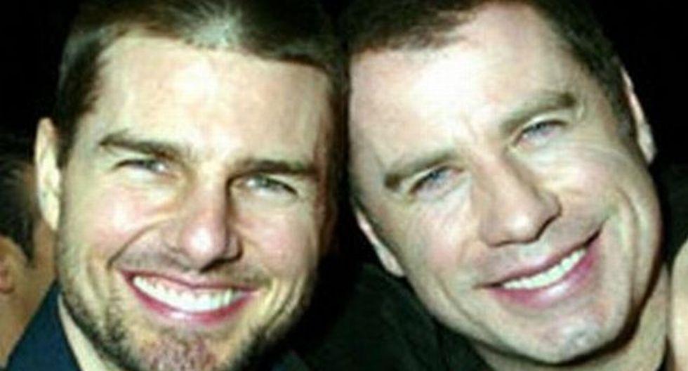 Tom Cruise y John Travolta envueltos en la polémica. (nowmagazine.com)