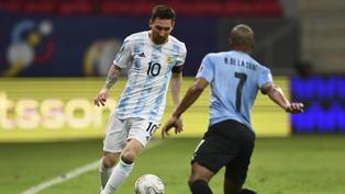 Argentina derrotó 1 a 0 a Uruguay en el Grupo A de la Copa América