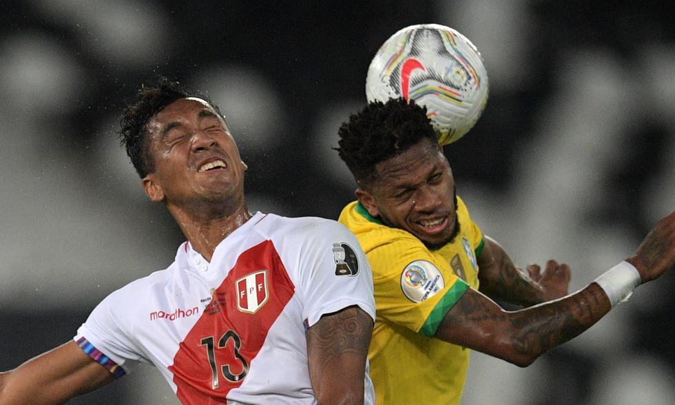 Perú vs. Brasil   Foto: AFP