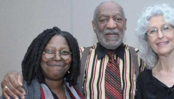 Whoopi Goldberg defendió a Bill Cosby de denuncias por violación. (Reuters)