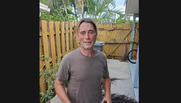 Tony, el jardinero que salvó la vida de un hombre en Palm Beach. (Foto: Policía de Palm Beach)