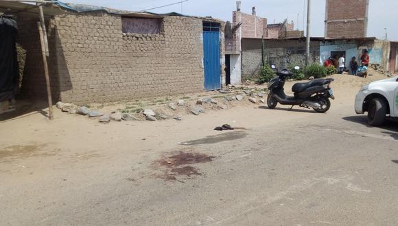 El fallecido fue atacado por los sicarios en los exteriores de una vivienda en La Esperanza.