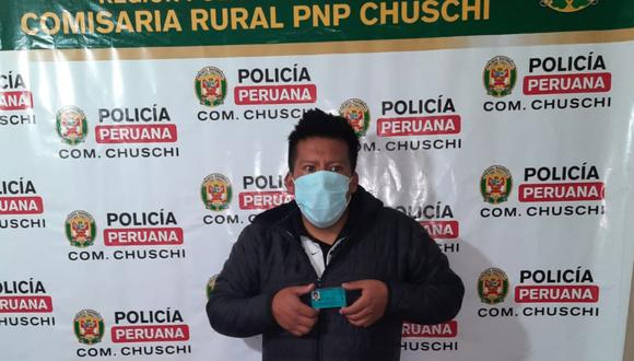 Ayacucho: Detienen a sujeto que pretendió suplantar a otro elector en centro de votación. (Foto PNP)