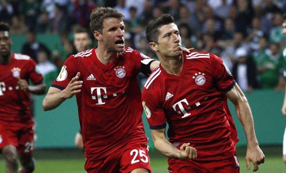 Bayern Múnich necesita un punto para consagrarse campeón de la Bundesliga por séptima vez consecutiva; mientras que Frankfurt busca la Champions League. (Foto: @fcbayern.es)