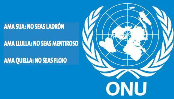 ONU aprobó Ama Sua, Ama Llulla y Ama Quella como normas para una gestión pública más eficiente. (Perú21)