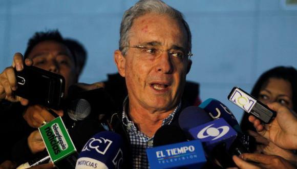 Se reunió con el presidente Santos en la Base Aérea de Rionegro, cercana a Medellín. (Reuters)