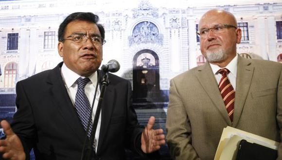 ACUERDOS POLÍTICOS. Retiraron la moción de censura y no investigarán a funcionarios de Abugattás. (Luis Gonzáles)