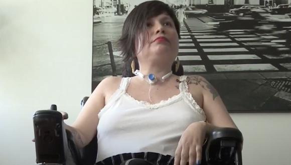 Ana Estrada obtuvo un fallo judicial que le permite el derecho de tener una muerte asistida. (GEC)