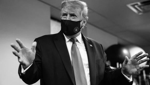 """Donald Trump defiende el uso de la mascarilla como gesto """"patriótico"""". (Foto: @realDonaldTrump)."""