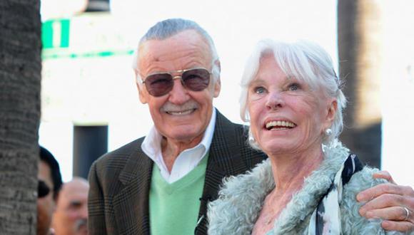 Falleció Joan Lee, la esposa de la leyenda de Marvel Stan Lee (Getty Images)