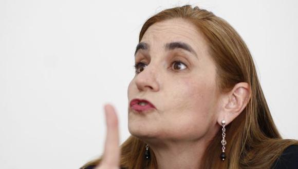 Anel Townsend renunció a la lista al Congreso de César Acuña. (Anthony Niño de Guzmán)