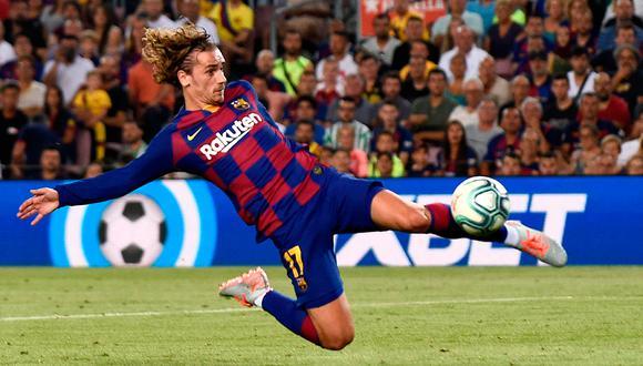 Antoine Griezmann fue el guía de Barcelona ante Real Betis. (Foto: AFP)