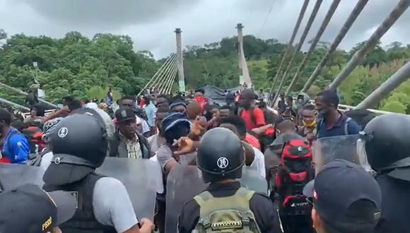 El hecho se registró en el puente 'Integración' ubicado en Iñapari, en la región de Madre de Dios.