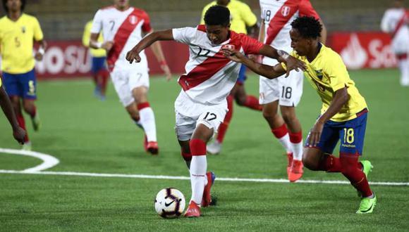 La selección peruana y Ecuador son dos de los países clasificados al hexagonal final del Sudamericano Sub 17. (Foto: Jesús Saucedo)
