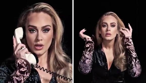Adele revela que su nuevo álbum es para ayudarle a explicar su divorcio a su hijo. (Foto: Instagram / @nbcsnl).