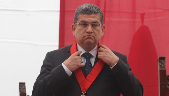 Walter Ríos renunció a la presidencia de la Corte Superior del Callao tras la difusión de audios. Pocos días después, fue detenido. (Foto: Difusión)