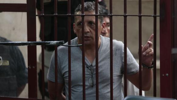 Antauro Humala no quiere cumplir la totalidad de su condena. (César Fajardo)