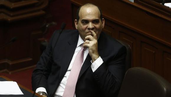 Premier Fernando Zavala solicitó acudir al Parlamento para sustentar cuestión de confianza