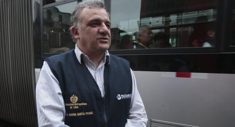 Gustavo Guerra García, presidente de Protransporte, enfatizó que la ruta troncal y los alimentadores funcionarán a la vez. (Perú21)