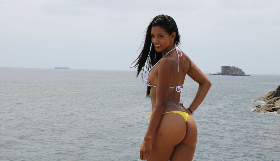Rocío Miranda causó furor en su visita a Panamá. (Facebook)
